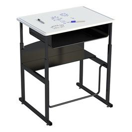 "AlphaBetter Stand-Up Desk w/ Book Box - Whiteboard Top (28\"" W x 20\"" D)"