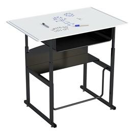 "AlphaBetter Stand-Up Desk w/ Book Box - Whiteboard Top (36\"" W x 24\"" D)"