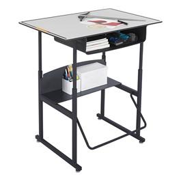 "AlphaBetter Stand-Up Desk w/ Book Box - Phenolic Top (36\"" W x 24\"" D)"