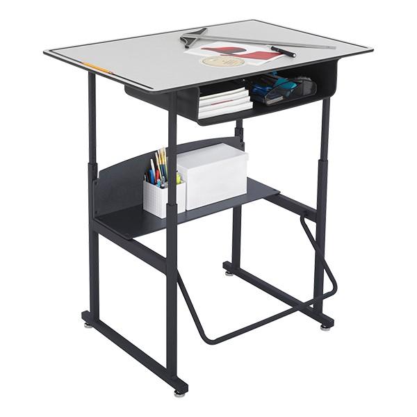 "AlphaBetter Stand-Up Desk w/ Book Box - Phenolic Top (36"" W x 24"" D)"