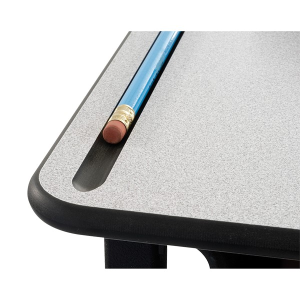 "AlphaBetter Stand-Up Desk w/ Phenolic Top (28"" W x 20"" D) - Pencil tray"