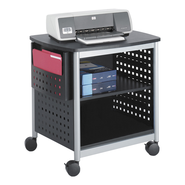 Scoot Printer Stand Desk Side Shown