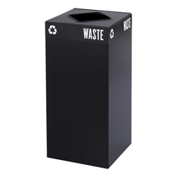 Waste & Recyclable Receptacle Base - 31 Gallons (Green)