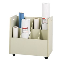 Mobile Roll File - 8 Compartments