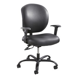 Alday Heavy-Duty Task Chair - Vinyl Upholstery
