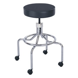 "Lab Stool – Screw Height Adjustment w/o Backrest (25"" - 33\"" H)"