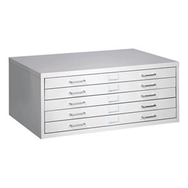 "Facil Five-Drawer Flat File (For Documents 24"" W x 36\"" L)"