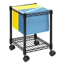 Compact Mobile File Cart