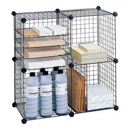 Lightweight Wire Cube Organizer
