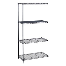 Industrial Wire Shelving Adder Unit