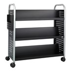Scoot Double-Sided Book Cart