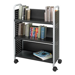 Scoot Single-Sided Book Cart