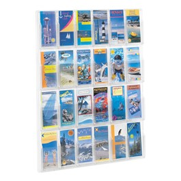 Reveal Pamphlet Display - Shown w/ 24 Openings