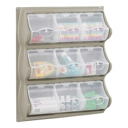 Pocket Panel Storage - Shown in Gray