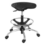 Sit-Star Stool - Metallic Black