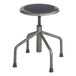 "Diesel Series Industrial Stool – Adjustable Height (16"" - 22\"" H)"