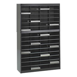 E-Z Stor Literature Organizer - Shown in Black