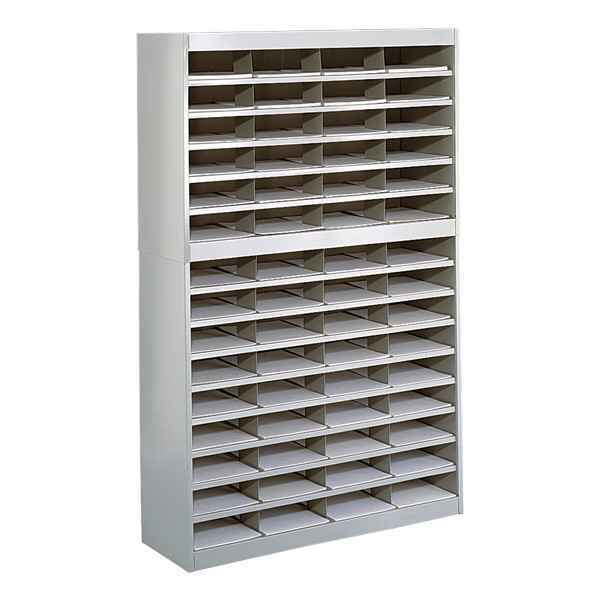 E-Z Stor Literature Organizer - Shown in Gray