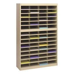 E-Z Stor Literature Organizer - Shown in Tropic Sand