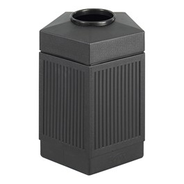 Five-Sided Panel Indoor/Outdoor Trash Can (45 Gallons)