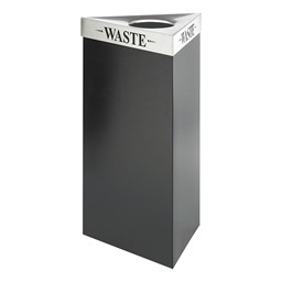 Trifecta Waste Receptacle w/ Lid (19 Gallons)