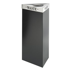 Trifecta Waste Receptacle w/ Lid (21 Gallons)