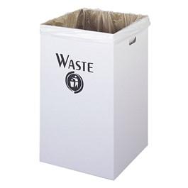 Corrugated Waste Receptacle