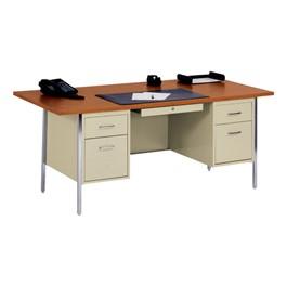 """500 Series Double-Pedestal Teacher Desk (36\"""" D x 72\"""" W)"""
