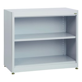 Welded Radius Edge Stationary Bookcase