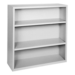 Steel Bookcase - Gray