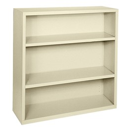 Steel Bookcase - Putty