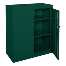 Classic Series Counter-Height Metal Storage Cabinet