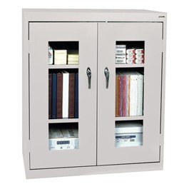 Clear View Series Counter-Height Cabinet