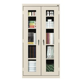Clear View Series Tall Storage Cabinet