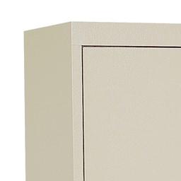 System Series Metal Storage Cabinet<br>Textured finish detail