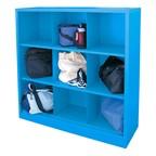 Nine-Section Cubby Storage Organizer - Sky Blue