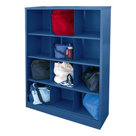 12-Section Cubby Storage Organizer - Navy