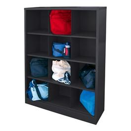 12-Section Cubby Storage Organizer
