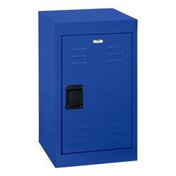 Single-Tier Mini Locker - shown in blue