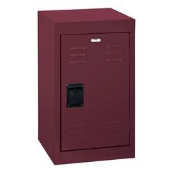 Single-Tier Mini Locker - shown in burgundy