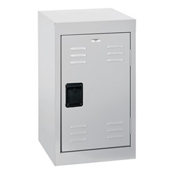 Single-Tier Mini Locker - shown in dove