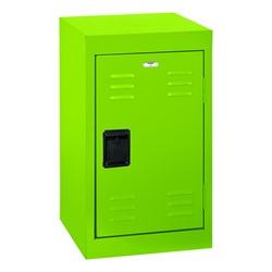 Single-Tier Mini Locker - shown in electric green
