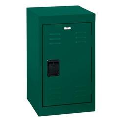 Single-Tier Mini Locker - shown in forest green