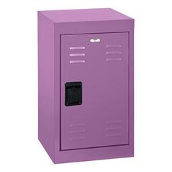 Single-Tier Mini Locker - shown in purple