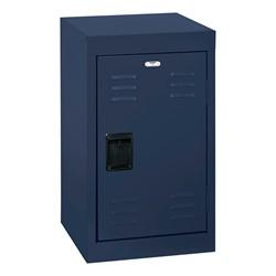 Single-Tier Mini Locker - shown in navy blue