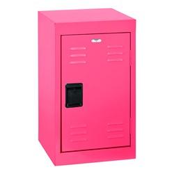 Single-Tier Mini Locker - shown in pink