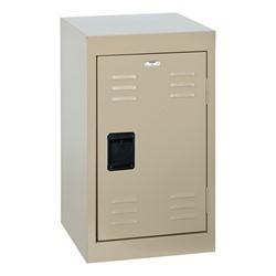 Single-Tier Mini Locker - shown in putty