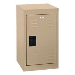 Single-Tier Mini Locker - shown in sand