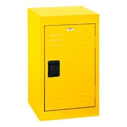 Single-Tier Mini Locker - shown in yellow