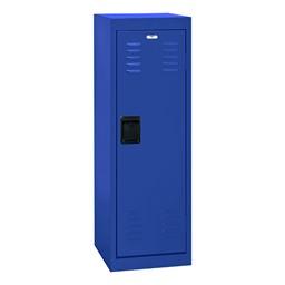 Single-Tier Child Locker - shown in blue